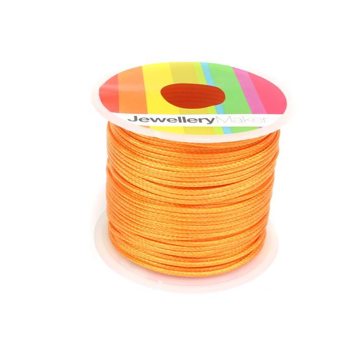 10m Gold Wax Cord Spool 1mm